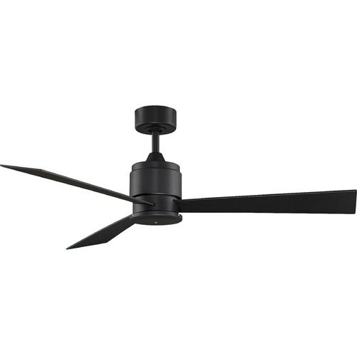 Fanimation Fans Zonix Black Ceiling Fan Without Light | FP4620BL | Destination Lighting