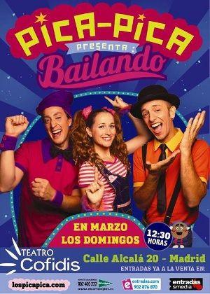 Agenda de espectáculos infantiles en MARZO 2014 en Madrid