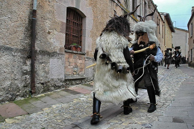 The fight [Su Corongiaiu, Laconi]