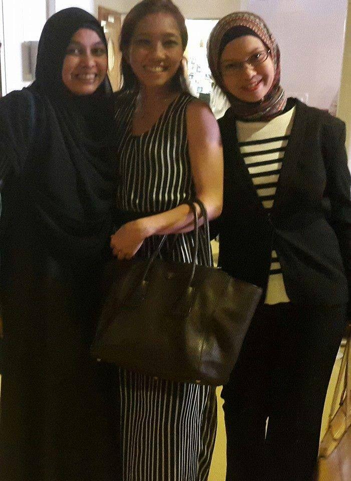 kak Safrina, mba Dini, dan kak Vonita  #OriflameID #GoldCruiseORIFLAME2014 #dBCNatGoldCruise