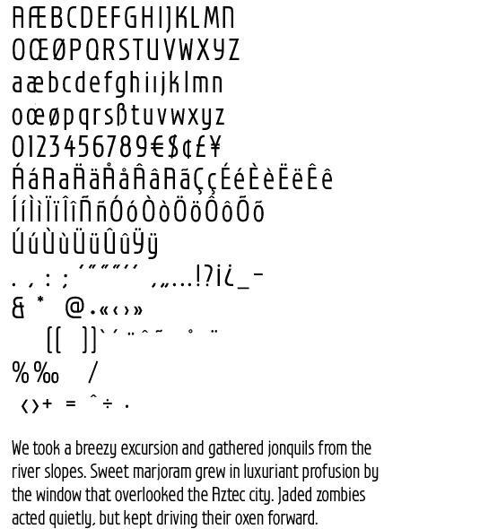 (New) Spectra, the ASSOCIATES font par excellence...