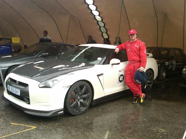 Jaki Scheckter - 2010 Nissan Skyline GTR R35