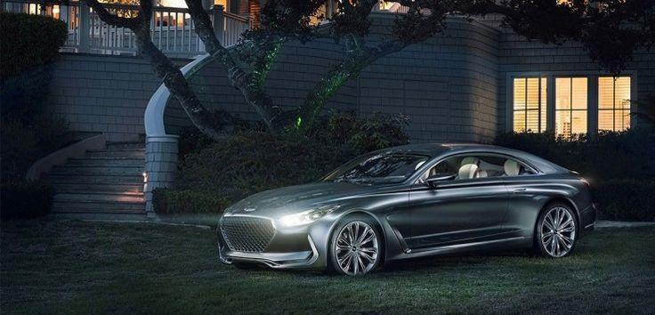 Kendi dünyasında yıldız olan Erkekler için: #Hyundai #VisionG #Concept #Coupe #Supercar #Sportscar