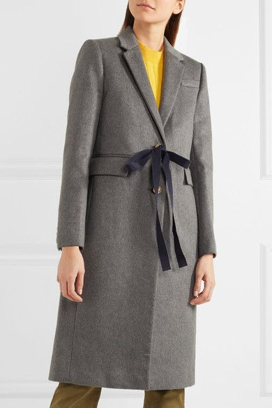 Gray wool and cashmere-blend  Button fastenings along front  80% wool, 20% cashmere; lining: 95% polyester, 5% elastane Dry clean Designer color: Heather Flannel  Imported
