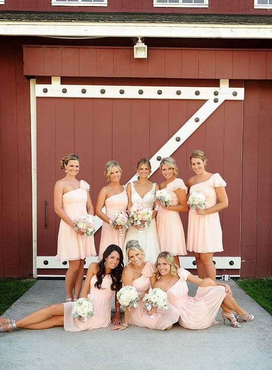 Love the dresses (bridesmaid) - this in either lilac or sky blue (: