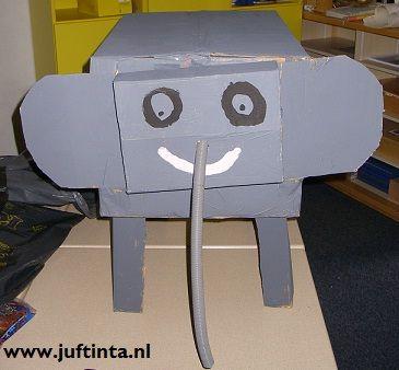 Surprise olifant knutselen