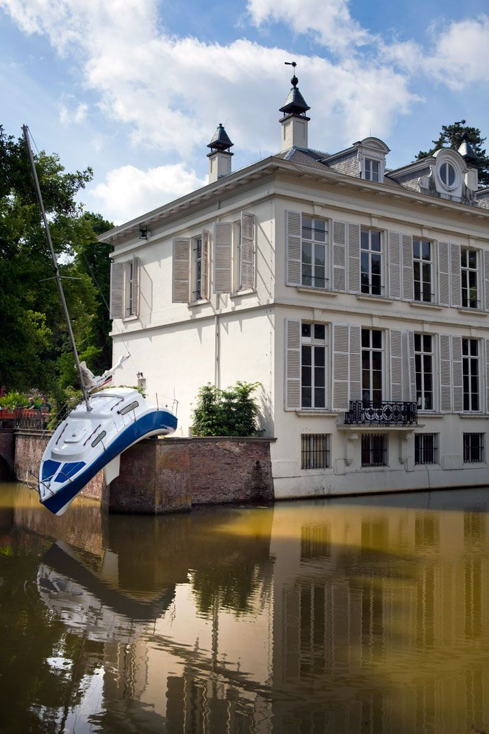 The Living Sculptures of Erwin Wurm. See what is inspiring us and find out more by joining us www.facebook.com/tanandbrown