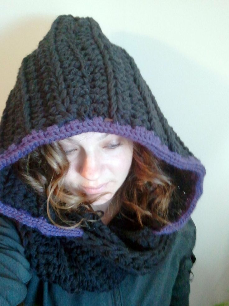 Hooded Scarf  Womens Hooded Scarf  Long by DOVIESlovingKNITS, $55.00