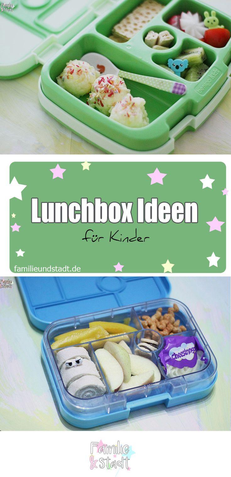 Bentgo Kids und Yombox Lunchbox Ideen für Kinder für die Schule und Kita. Frühstücksideen