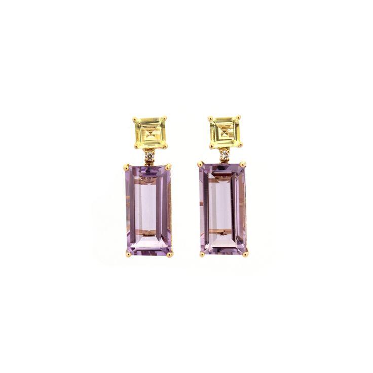 Lavender Pizazz Earrings – Kate McCoy