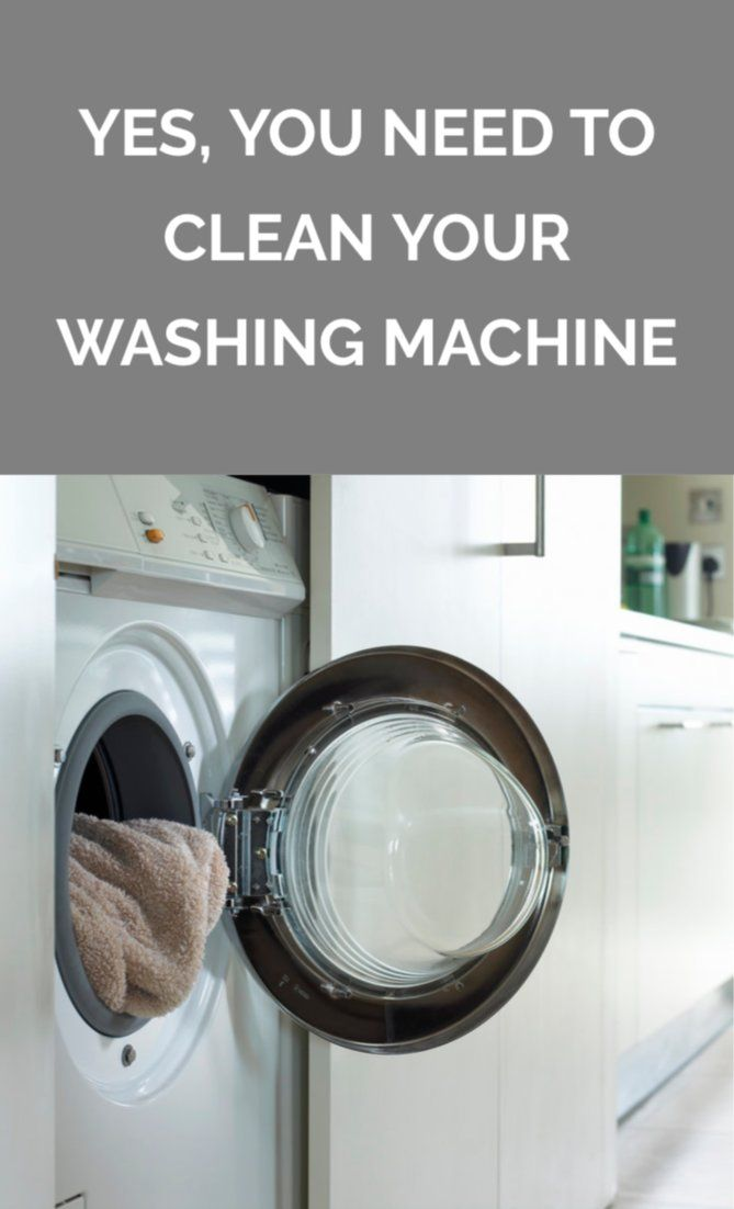 Yes, You Need to Clean Your Washing Machine | Cleaning Hacks