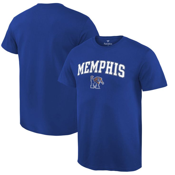 Memphis Tigers Fanatics Branded Campus T-Shirt - Royal