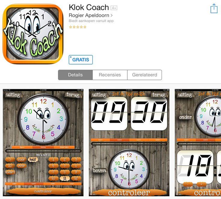 Deze app is speciaal ontworpen om de klok in te oefenen. Deze wiskunde app is ideaal om vanaf het vierde leerjaar te gebruiken. De app kan gebruikt worden tijdens een instructie of in een hoekenwerk.