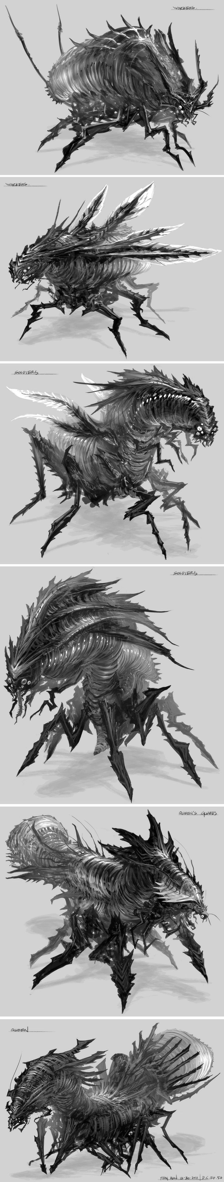 Feng Zhu design #creatures #concept #art