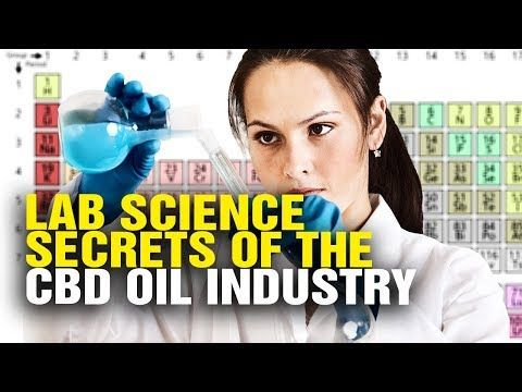 Lab science secrets of the CBD oil industry - YouTube