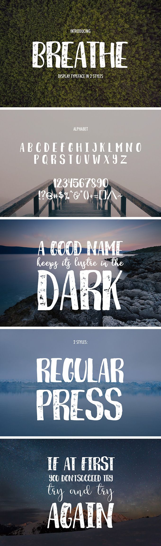 Breathe Font- FREE Get the Breathe, a new handwritten font in 2 styles available in all modern formats. Ideally suitable for the decoration of your works, design of logos, creation of invitations, greeting card and more! We thank MediaLab team for providing us with this wonderful freebie.