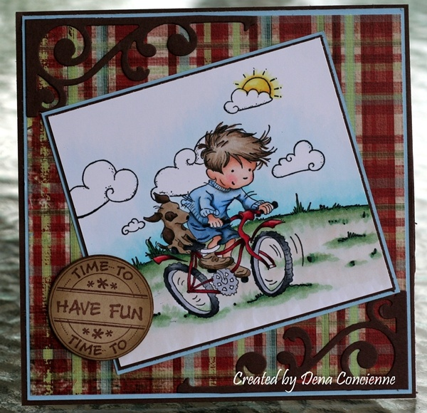 LOTV - Riding my Bike - http://www.liliofthevalley.co.uk/acatalog/Stamp_-_Boys_-_Bike.html