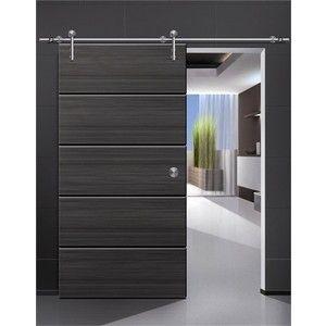 Modern Interior Doors | Modern Barn Door Hardware For Wood Door   Modern   Interior  Doors
