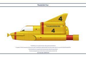 Thunderbird Four by WS-Clave