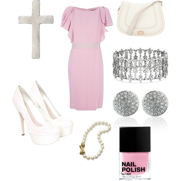 """""""Church attire"""" by mollylsanders on Polyvore"""