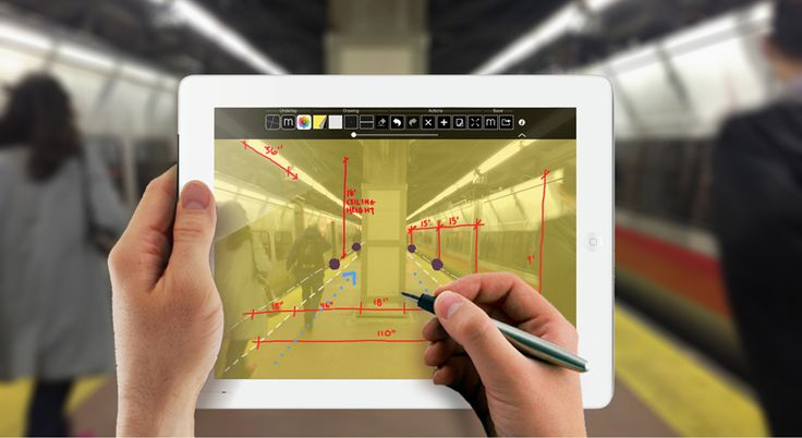 trace 2.0 iPad app for architects by morpholio project
