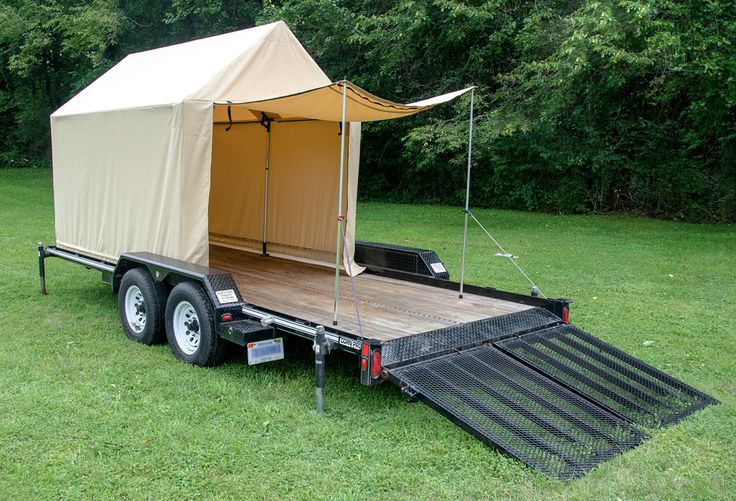 Flatbed Tents Travel Trailer Redo Pinterest Tent