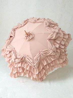 Most gorgeous parasol we have ever seen! It looks like cake! Fairy Frill Parasol by Victorian maiden