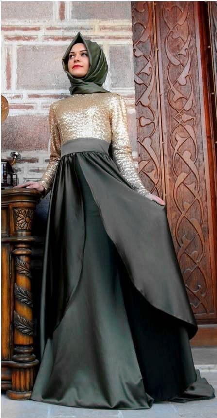 Fancy muslim daily dress,abaya, hijab