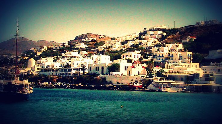Another view of Mykonos Town (Chora)...