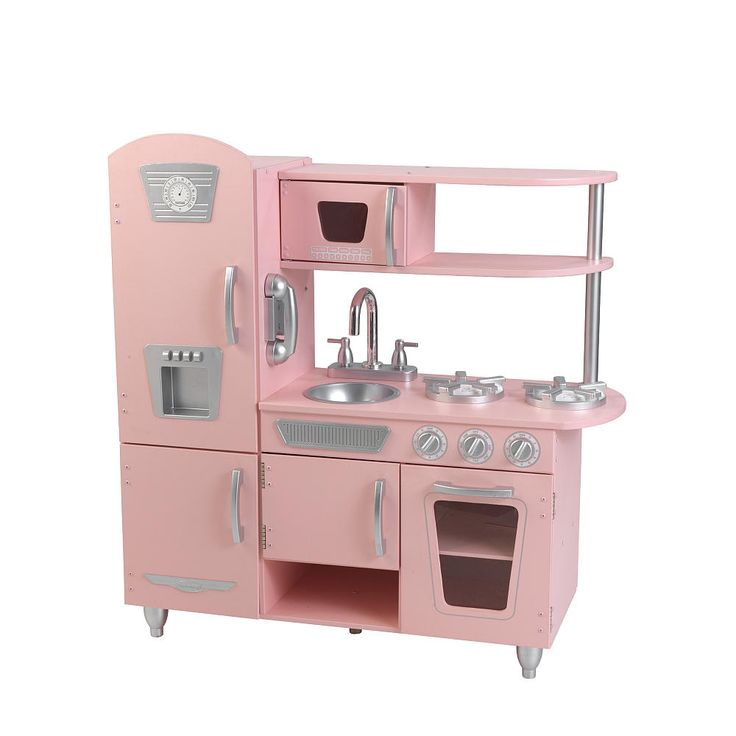Your child can now have a kitchen of their very own with the KidKraft Retro Kitchen and Refrigerator. Let your childs culinary imagination run free as they enjoy the Red Retro Kitchens various amenities. Solidly constructed with quality in mind, the Kidkraft Retro Kitchen makes the perfect gift and is large enough so that multiple children can play with it at once. The Kidkraft Retro Kitchen with Refrigerator will provide hours of fun and educational entertainment and because of its classic…