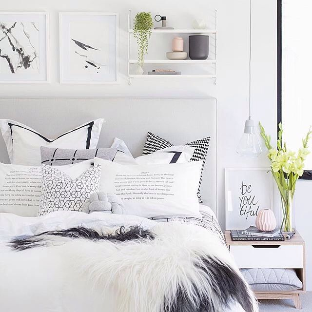 """The perfect cosy bedroom of Perth girl Tarina @oh.eight.oh.nine"