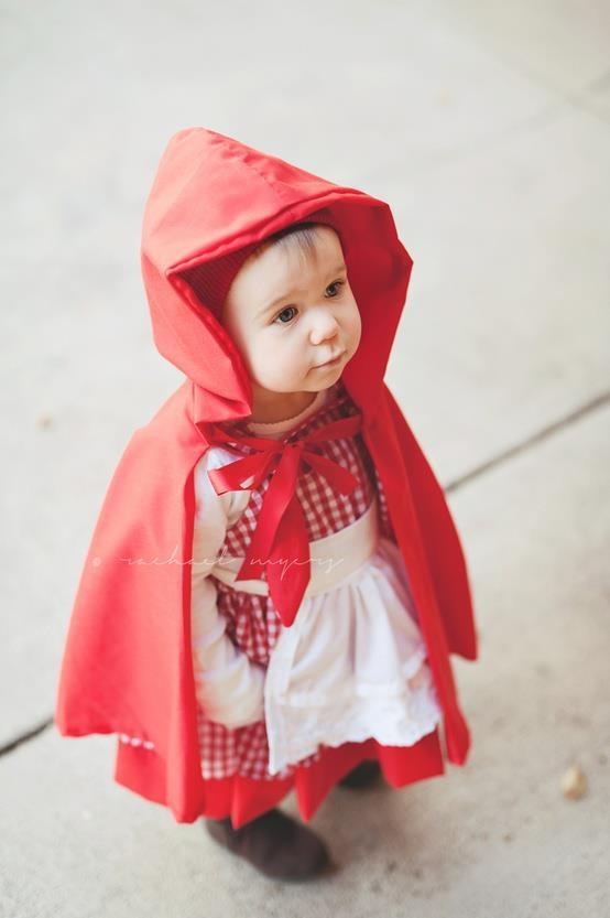 Disfraz de caperucita roja.