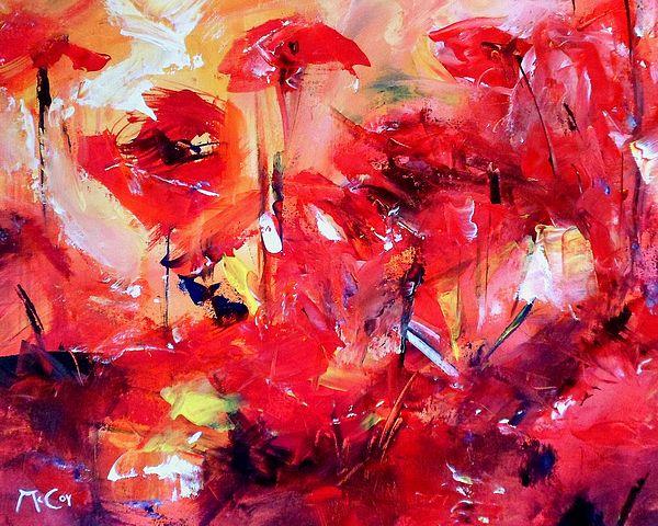 Poppies - Art by Kirstin McCoy