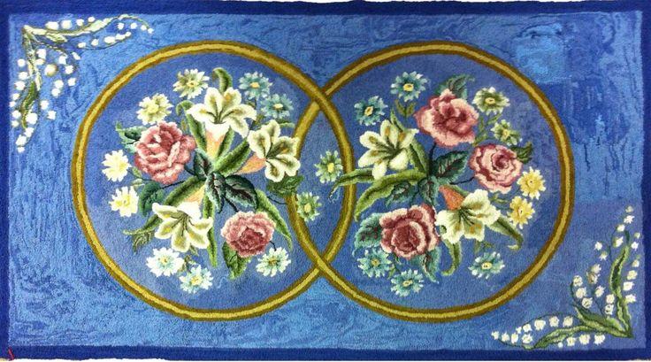 139 Best Images About Rug Hooking Floral On Pinterest