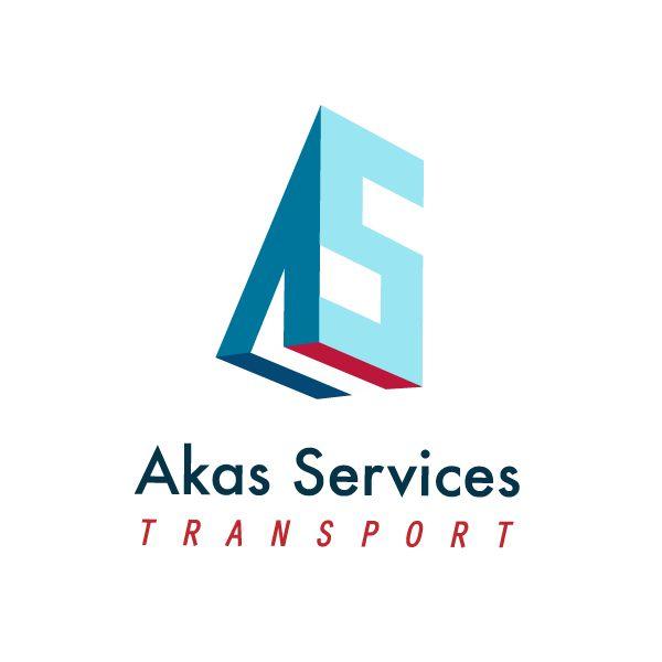 Design of a logo for a French transport company. Projekt logo dla francuskiej firmy transportowej.