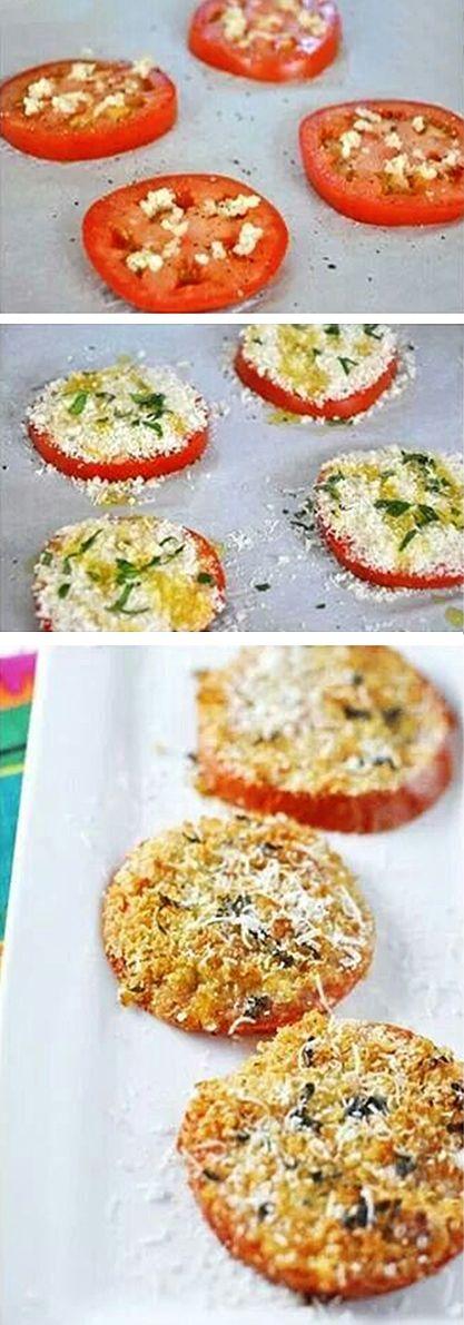 Pečená rajčata se sýrem - DIETA.CZ