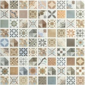 Multicolor 30x30 Tiles from Walls and Floors