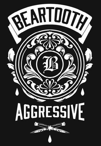 "Beartooth ""Aggressive"" Wall Flag"