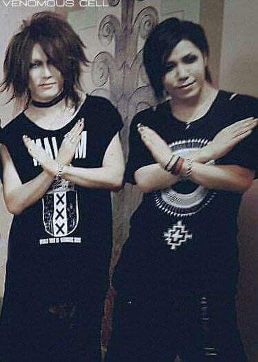 Uruha and Aoi. The GazettE