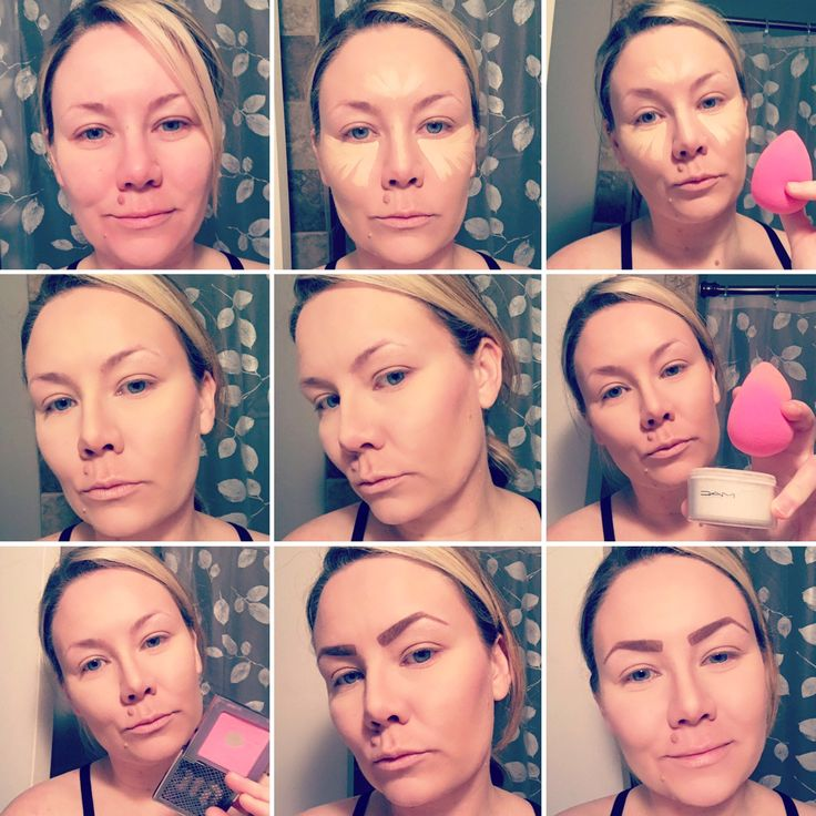 Contouring step by step!