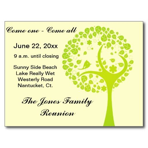 50 best Events - Family Reunion images on Pinterest Birthdays - family reunion letter templates