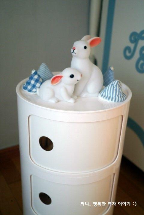 아기방 꾸미기 ♥ 신생아방 꾸미기 / 아기방 인테리어 소품 : 네이버 블로그 #bunnyonComponibili Kartell Componibili