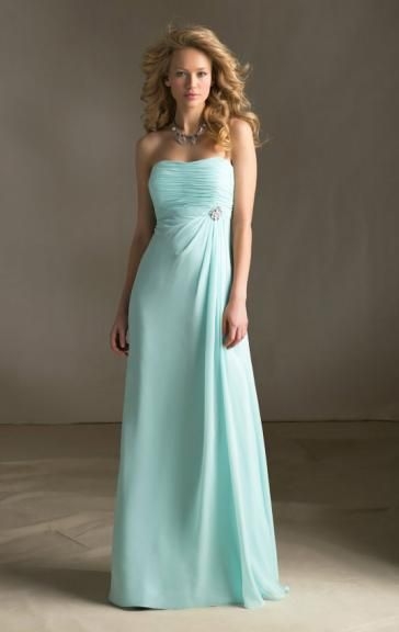UK Blue Green Bridesmaid Dress BNNAJ0002-Bridesmaid UK