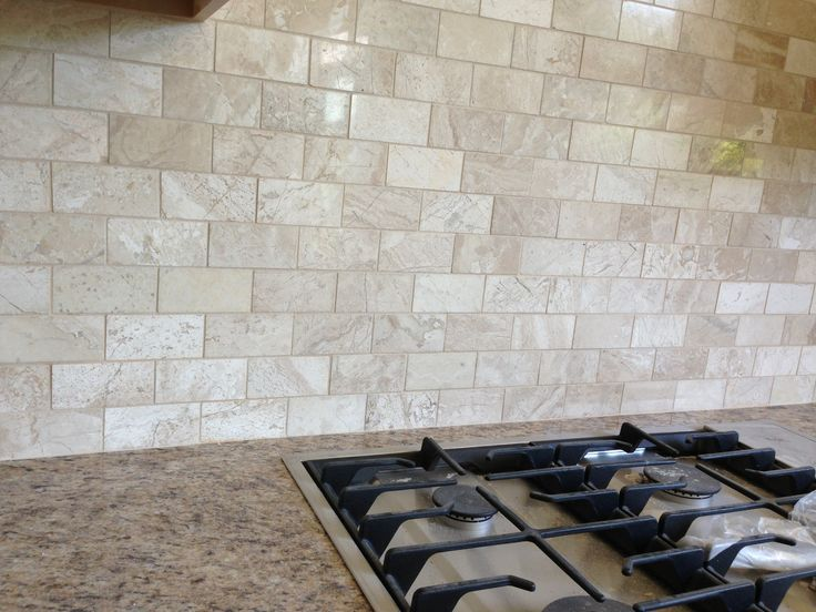 Queen Beige Marble Backsplash Kitchen Ideas In 2019