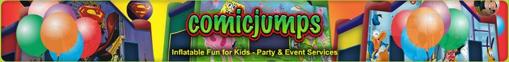 Visit our site http://www.comicjumps.com/jumpers/ for more information on Inflatable Rentals Daly City CA.There are absolutely lots of advantages to rent out for a children's event. If the place for your occasion has enough area, and you're already convinced that providing a Bounce Houses Berkeley CA at your event will make it much more satisfying and unique.