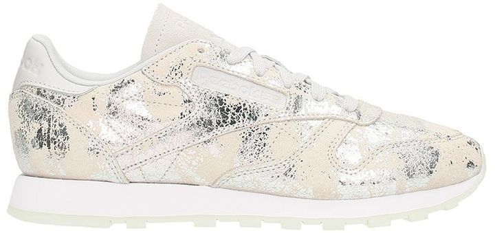 Reebok Classic Leather Dynamic Chrome Silver Met Sneakers