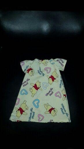 Winnie the pooh peasant dress