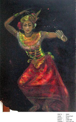 Barli Sasmitawinata - Penari Bali