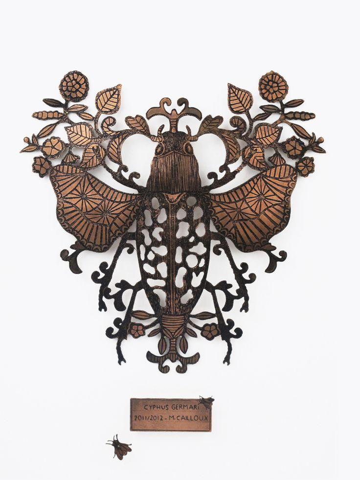 Wall Jewelry - Cyphus Germari - Michaël Cailloux