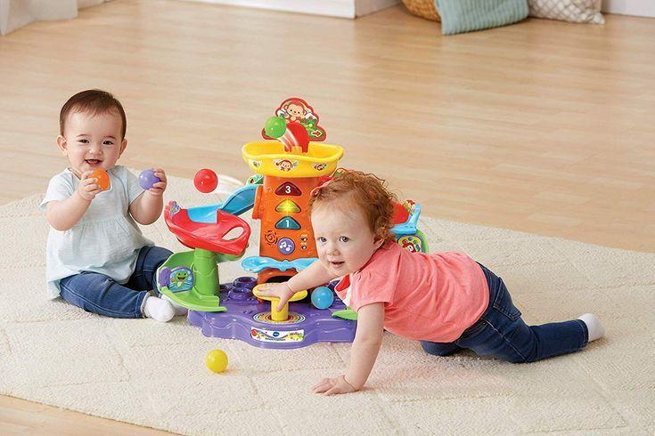 Vtech Ballspass Kugelbahn Babyspielzeug, Bunter Ballspaß